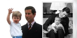 Prince Charles shared a rare picture of Prince William to mark his birthday(Image: GETTY/PA)