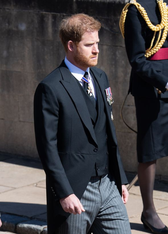 Harry is due to return to Britain for only the second time since Megxit for the Princess Diana statue unveiling(Image: GETTY)
