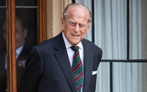 Prince Philip's death mark the beginning of the change to the old regime(Image: GETTY)