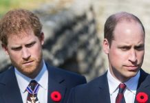 Prince William raged at his brother Prince Harry(Image: GETTY)