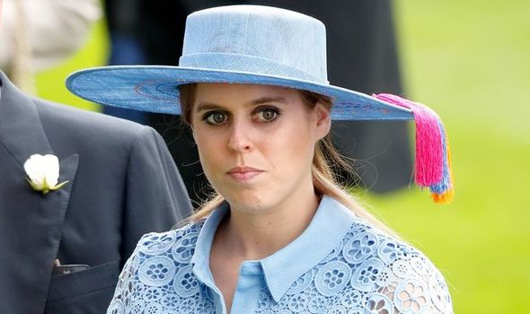 """Beatrice is unlikely to use the word """"pregnant"""" when she talks to the Queen(Image: GETTY)"""