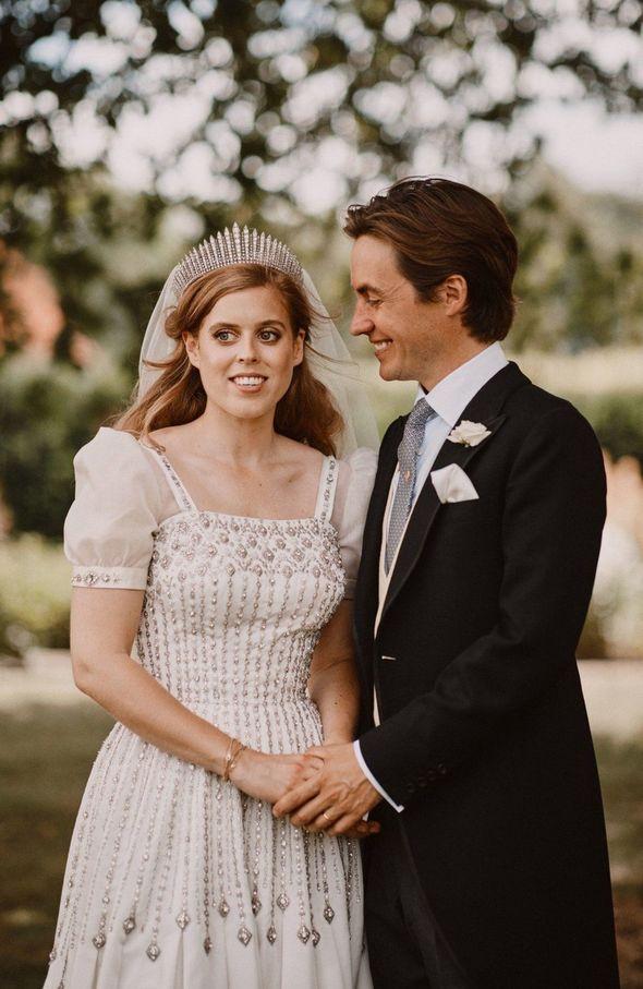 Beatrice and Mr Mapelli Mozzi tied the knot last July in a secret lockdown wedding in Windsor(Image: BENJAMIN WHEELER)