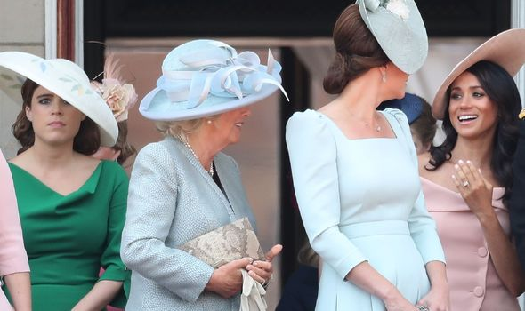 Princess Eugenie at 2018 Trooping the Colour with Kate.(Image: GETTY)