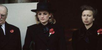 Princess Anne and Diana