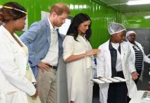 Meghan and Harry South Africa trip