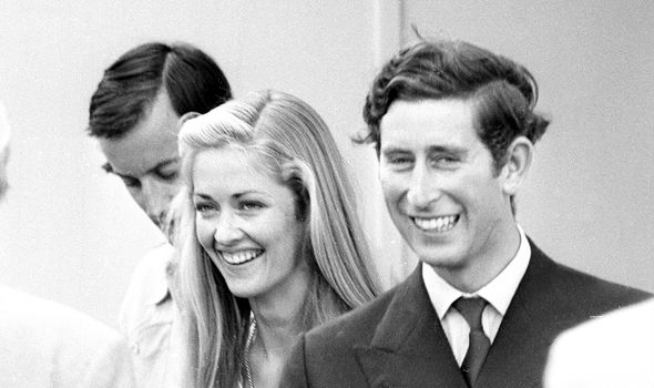 Charles with family friend, Lady Penny Romsey