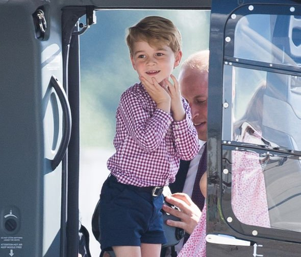 A young Prince George