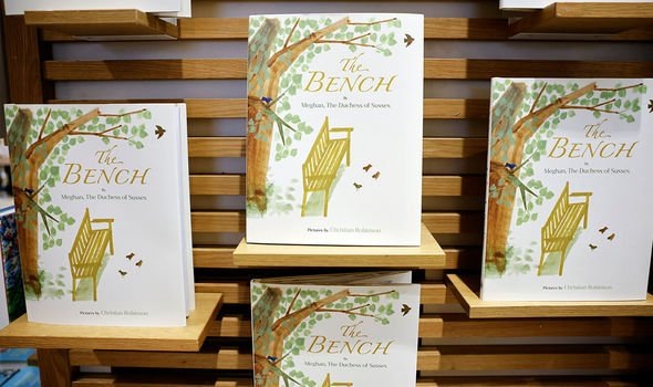 The Bench, Meghan's children picture book, released in June