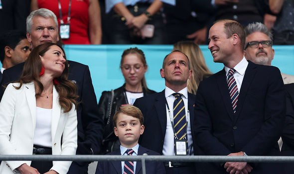 Kate and William made a rare outing with their son George at the weekend