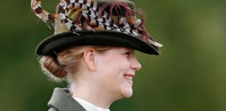 Lady Louise enjoys seeing the Queen on weekends