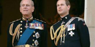 Prince Edward and Prince Philip