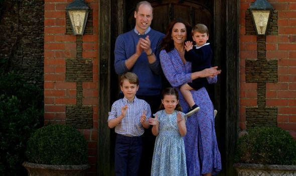 Prince George is seven, Princess Charlotte is six, while Prince Louis is three