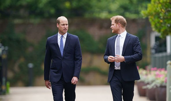 Prince William: The pair were reunited only briefly