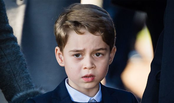 Private school: George could follow the same path as his parents and many other royals