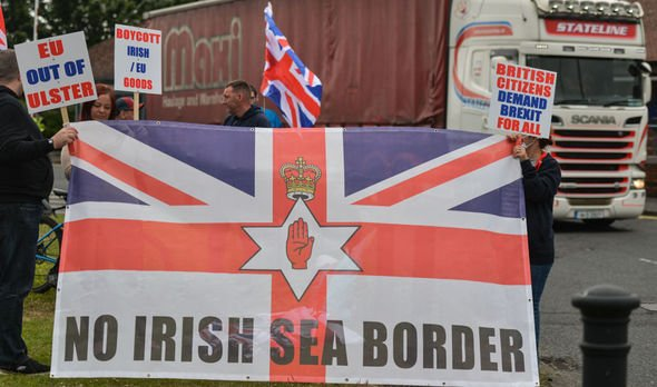 Protests Northern Ireland
