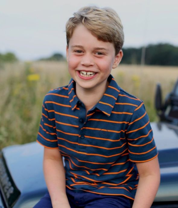 Royal birthday: The photo Kate released to mark George's eight birthday