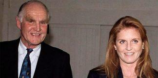 Sarah, Duchess Of York With Her Father, Major Ronald Ferguson 07 October, 1999