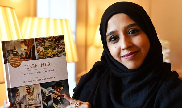 The cookbook, called Together, included a foreword by Meghan