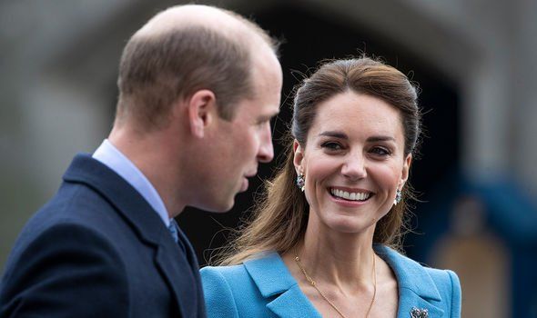 William and Kate on a recent tour of Scotland