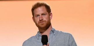 May 2, Prince Harry, The Duke of Sussex, speaks onstage during Global Citizen VAX LIVE: The Concert To Reunite The World at SoFi Stadium in Inglewood, California