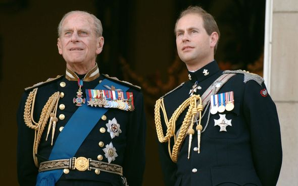 Prince Philip stated that his title was for Edward