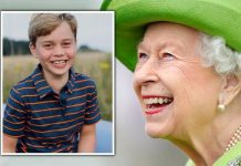 queen news prince george birthday picture surprise royal family news