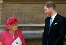Prince Harry and Queen