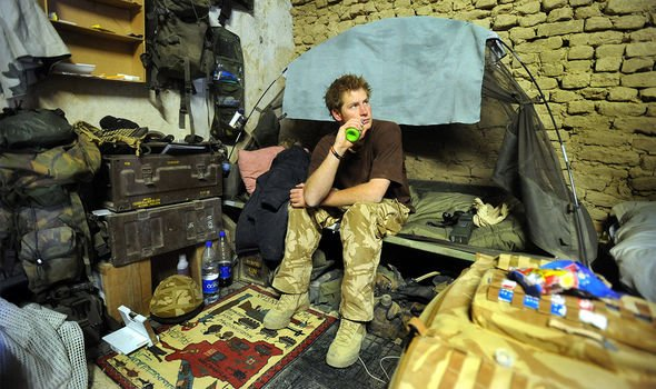 Afghanistan: Harry served in two frontline tours of Afghanistan in 2008 and 2012