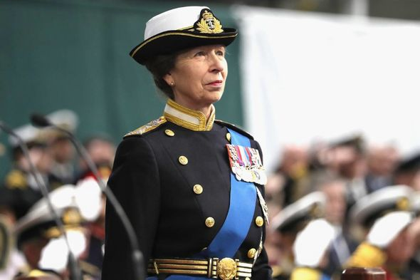 Anne was given the title by her mother The Queen