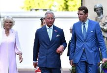 Prince Charles and Camilla with Ben