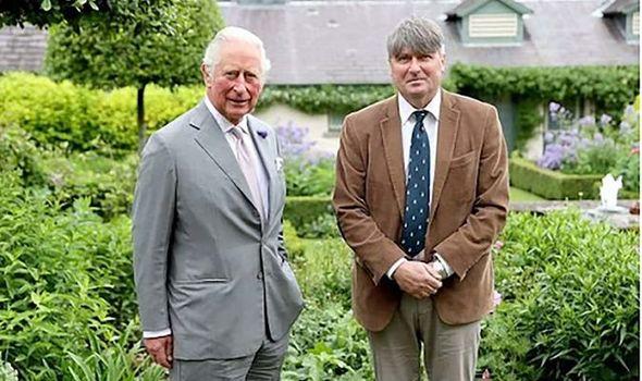 Charles and Poet Laureate, Simon Armitage