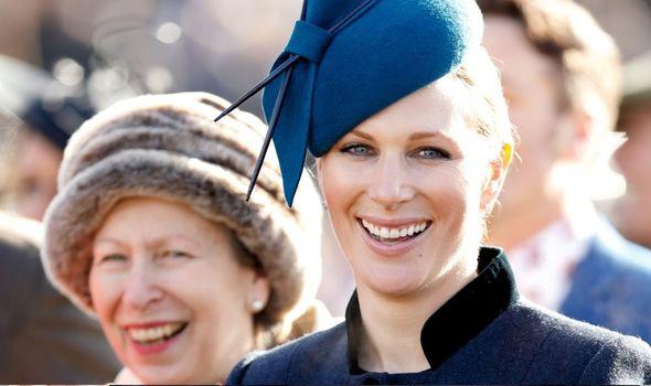 Close bond: Between Princess Anne and Zara