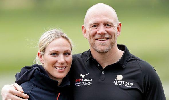 Couple: Zara and Mike Tindall