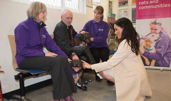 Duchess of Sussex Mayhew Visit