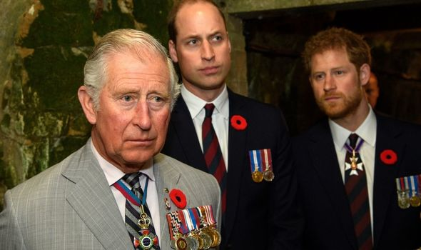 Harry: Spoke out about William and Charles