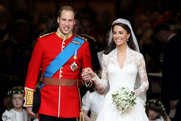 Kate and William eventually tied the knot at Westminster Abbey on April 29, 2011.