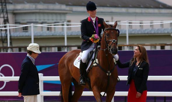 Olympian: Zara won silver medal for Team GB