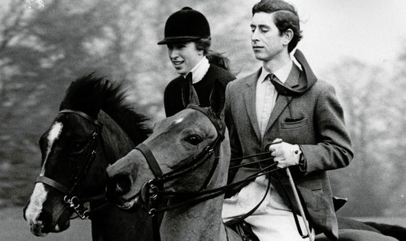 Prince Charles and Princess Anne share a love of horse riding