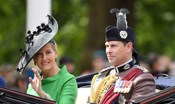 Prince Edward: The pair have been married for 22 years
