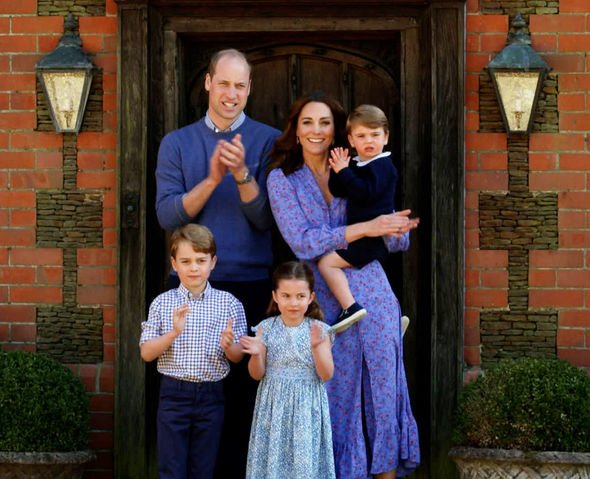 Prince George is the third in line to succeed the Queen as monarch