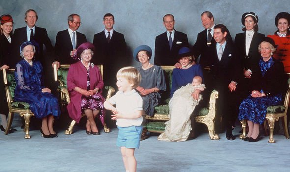 Prince Harry: Anne was nowhere to be seen on the young royal's christening