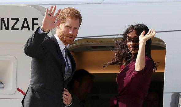 Prince Harry: The pair said farewell to their senior royal duties earlier this year
