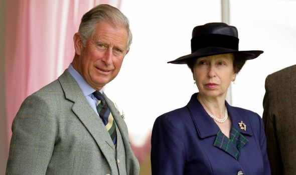 Princess Anne and Prince Charles are known to be close