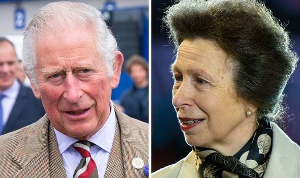 Princess Anne's quip at Charles' future role: 'Got you your own throne'