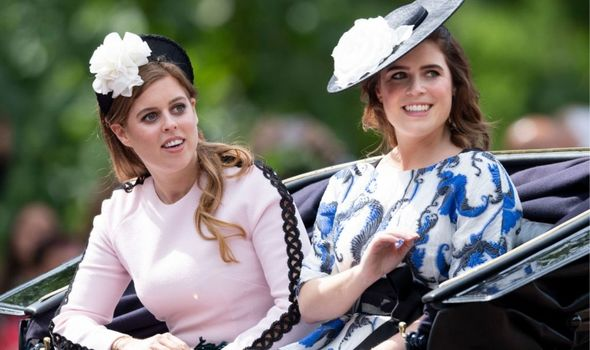 Picture of Princess Beatrice and Eugenie
