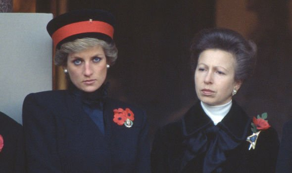Princess Diana: Diana and Anne had a shaky relationship