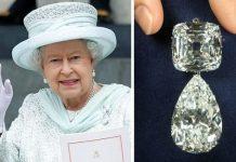 Queen's diamond brooch