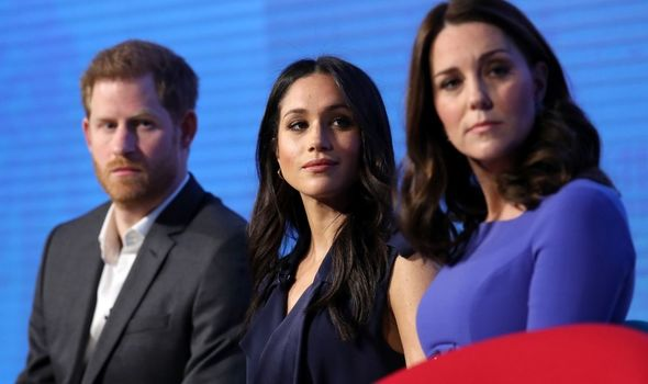 Rift: Reported dispute between Sussexes and royals