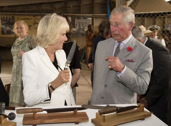 """Tim Rooke: """"I was once lucky enough to capture a moment between Camilla and Prince Charles during a trip to a vineyard in Australia."""