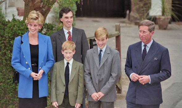 Prince William's first day at Eton